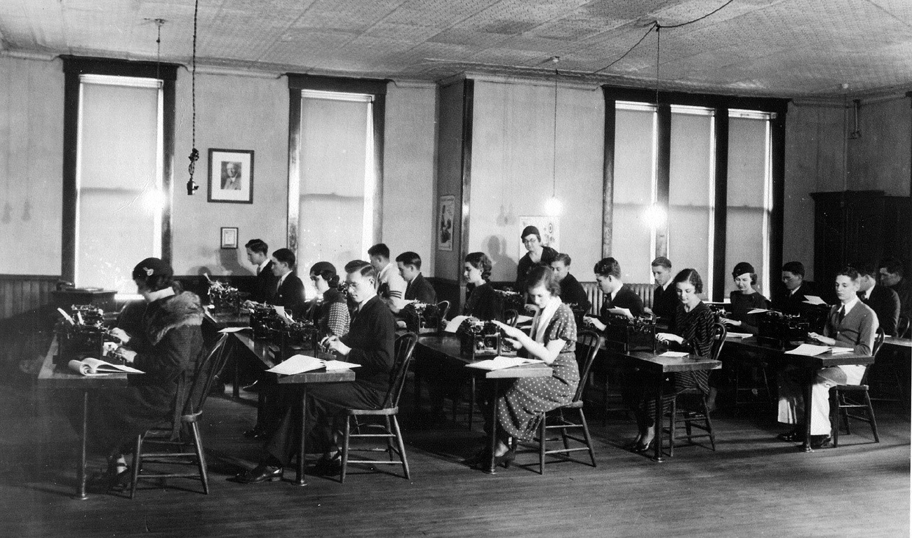 1919 Typing Class