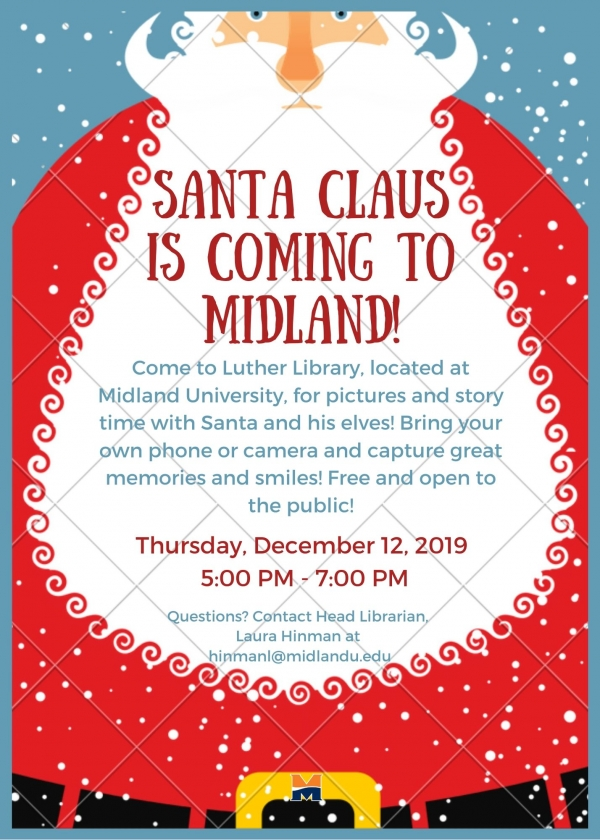 Santa is coming to Midland