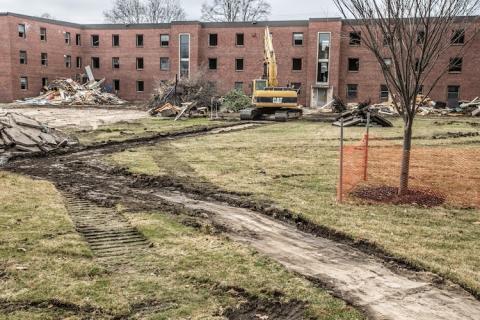 Miller Hall Groundbreaking