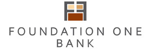 Foundation One Bank Logo